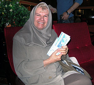 Denise in Iran